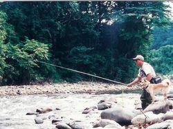 渓流釣りのスポット